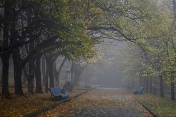 В парке осеннем....... / Железноводск. Октябрь