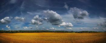 Про облака / Пейзаж Беларуси