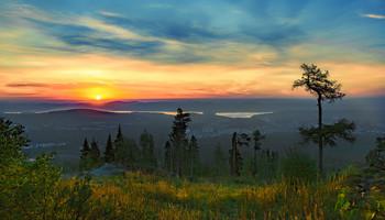 Утреннее солнце / Утро на Урале