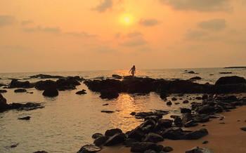 Жаркий вечер на море / Жаркий вечер на море