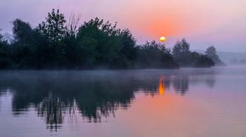 Озеро Сосновое. Рассвет. / ***