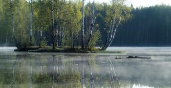 Утренний остров........... / Осиновая Роща. Май