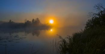 Утро осеннее. / Озеро Сосновое. Мещера.