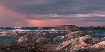 Поднимается ветер / Морской этюд Национальный парк Кап де Креус, Коста Брава