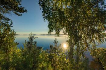 Утро на озере / Озеро Таватуй