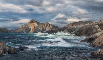 Стихающий шторм / Национальный парк Кап де Креус, Коста Брава
