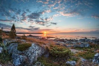 Утренние сказки Белого моря. / Белое море Онежская губа восход солнца