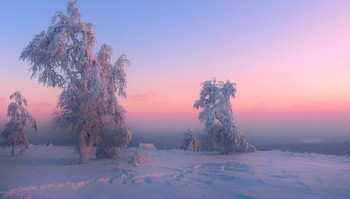 Белогорье... / Пермский край, гора Белая