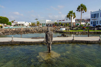 / Playa Blanka . Lanzarote .