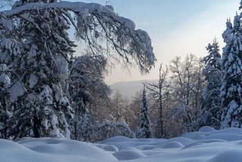 / зима,горы,снег