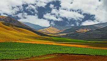 Солнечная долина / Снимок сделан в Азербайджане