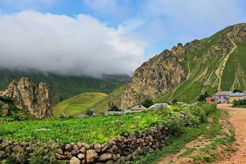 Весенний пейзаж / Снимок сделан в Азербайджане