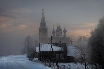 Сельский пейзаж / с. Дунилово, Ивановская обл.