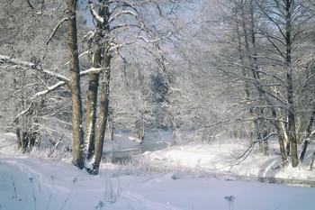 Вот и зима / Рассвет на Свислочи