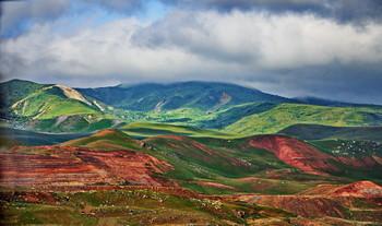 Хызинские горы / Цветные горы