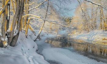 Зима / На реке