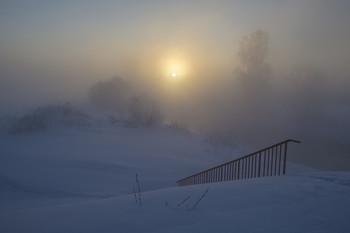 Мороз зиме за обычай / Россия. Московская область. Истра.