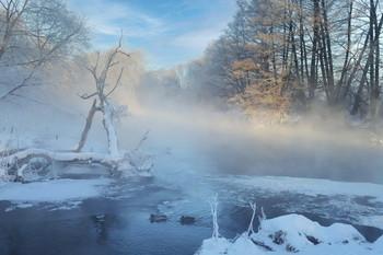 Зимнее утро / На реке