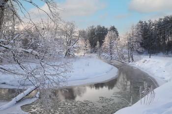 Март месяц / На реке