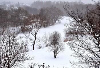 Март засыпал снегом / Март засыпал снегом