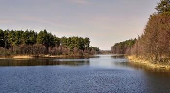В апреле на озере / В апреле на озере