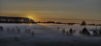 Миколині тумани... / 10.05.2021. село Бірки, Чернігівщина