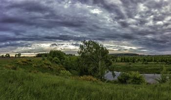 Перемена погоды... / 23.05.2021. село Бірки, Чернігівщина