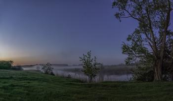 Миколині тумани... / 16.05.2021. село Бірки, Чернігівщина...