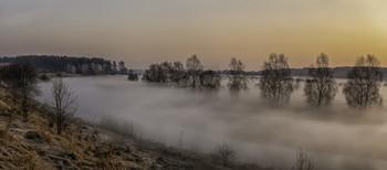 Миколині тумани... / 28.03.2021. село Бірки, Чернігівшина.