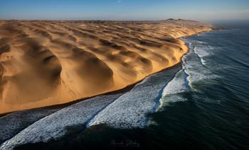 Sandwhich Harbor / Побережье пустыни Намиб. Национальный парк Намиб-Науклюфт, Намибия
