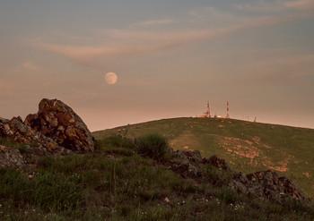 Полная луна / Полнолуние в мае