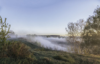 Миколині тумани... / 10.05.2021. село Бірки,Чернігівщина...