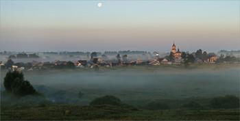 Летним утром / Пойменный туман