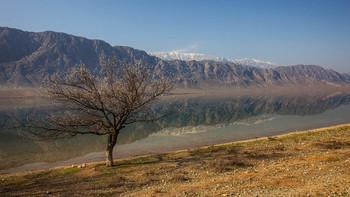 Торткуль / Торткульское водохранилище в Баткенской области