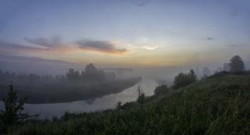 Миколині тумани... / 04.07.2021. село Бірки, Чернігівщина