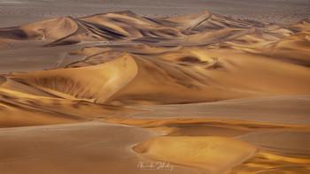 Позолоченные дюны / Пустыня Намиб, аэросъемка