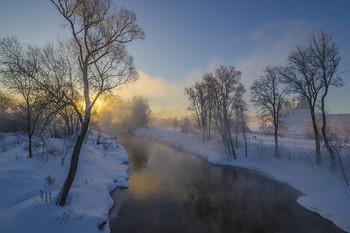 Зима на Истре / Россия. Московская область. Истра.