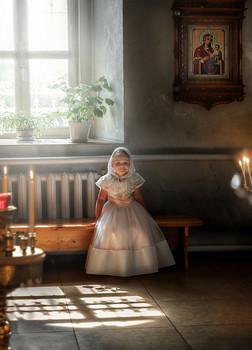 - Я тут тихонечко на лавочке посижу... / Церковь Николая Чудотворца. Деревня Орловка.