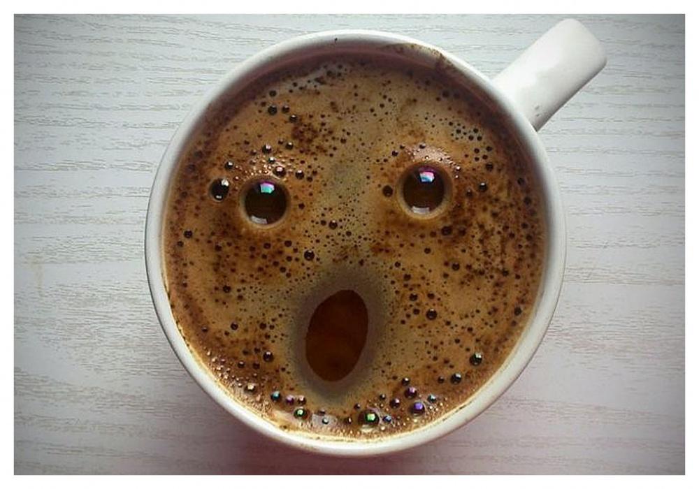 Веселые, фото смешное кофе