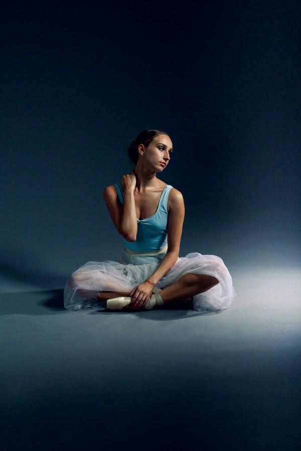 Студийная фотосессия балерины