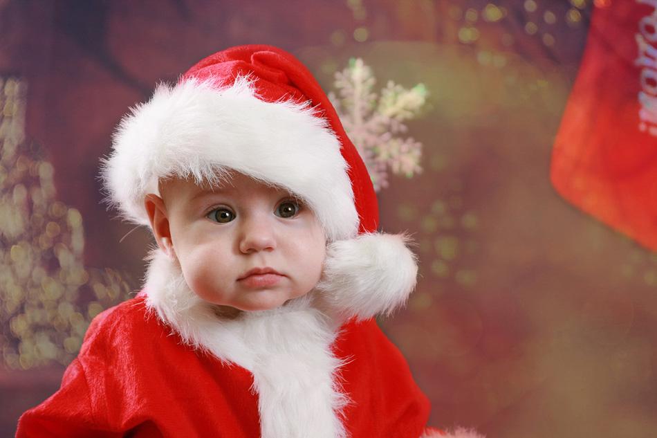 Новогодняя картинка малыши