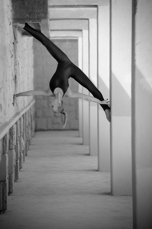 как невероятно гибкие балерины таком виде она