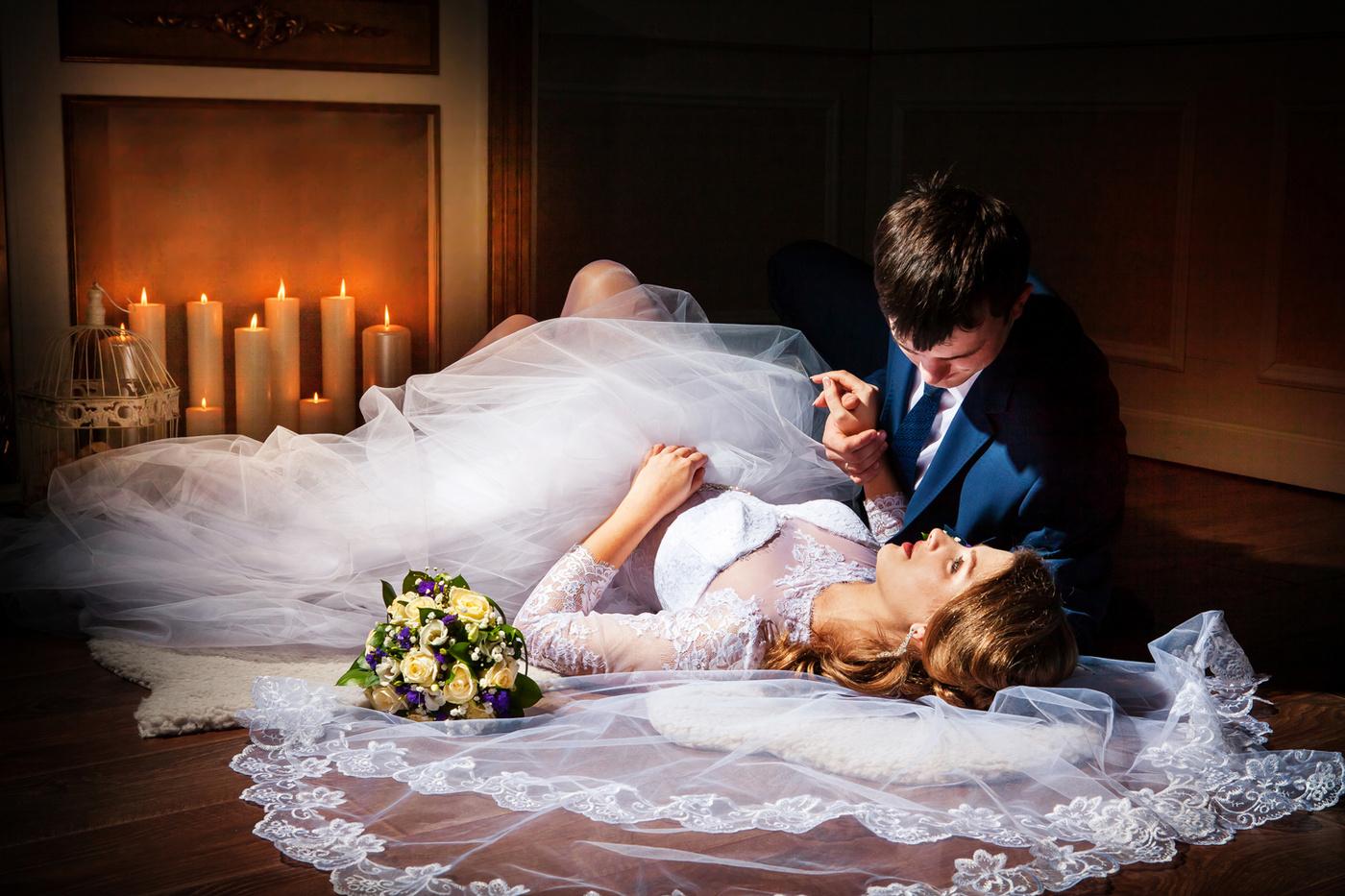 Первая Брачная Ночь После Свадьбы Девственницы