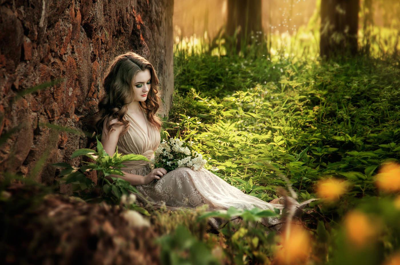 Картинки красивые сказочные девушки