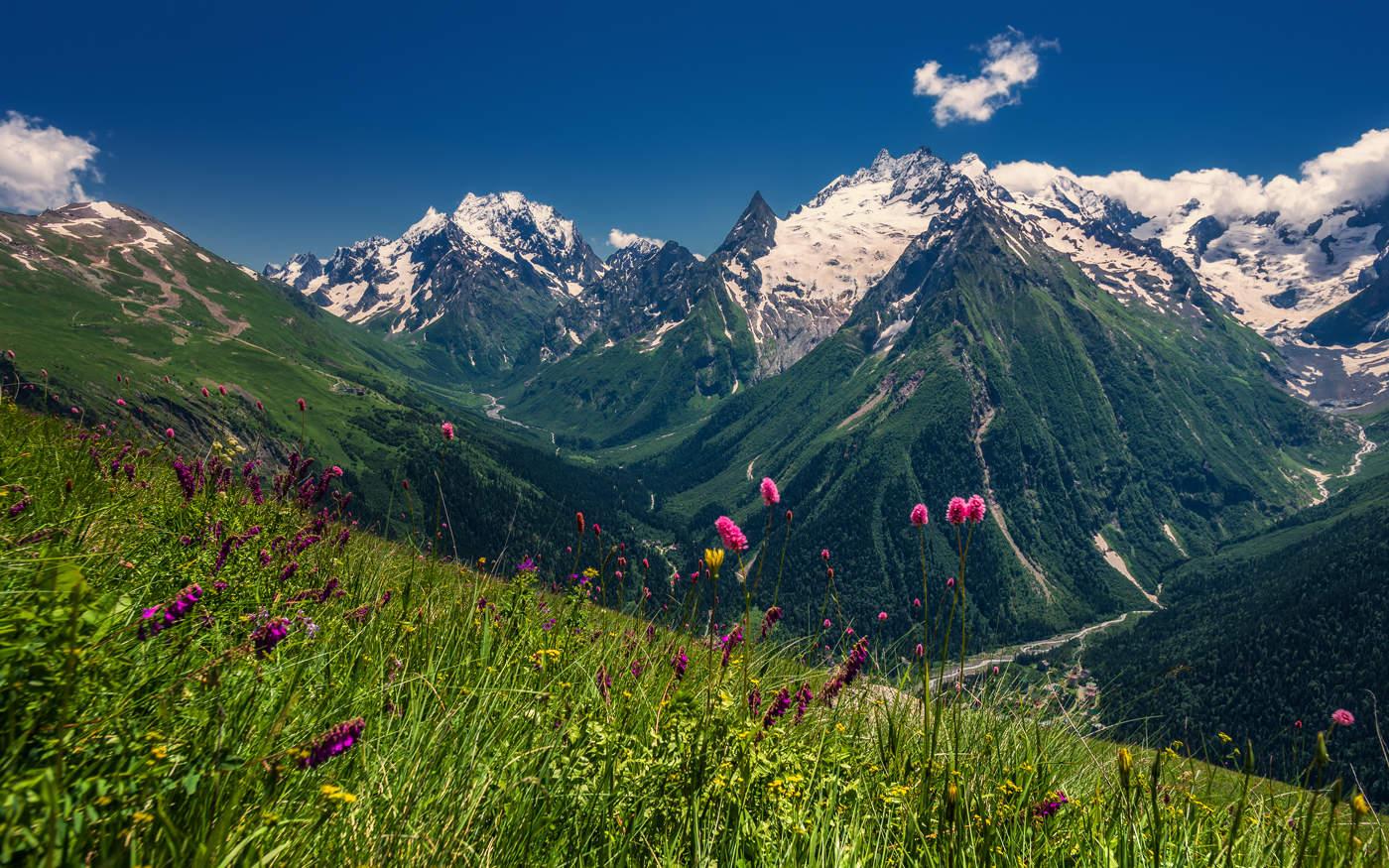 Рождеством христовым, картинки горы кавказа