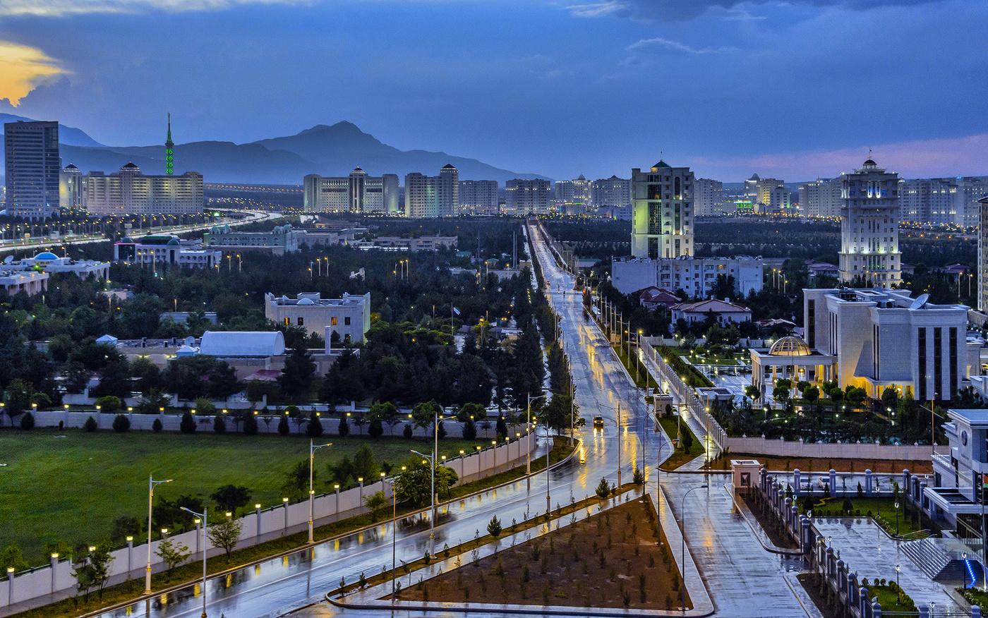 Туркменистан картинки города