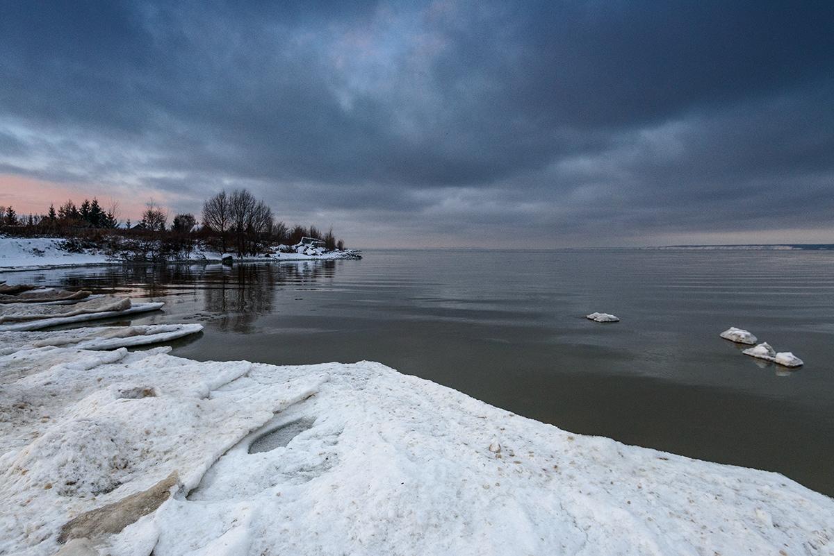 Картинки реки волги зимой