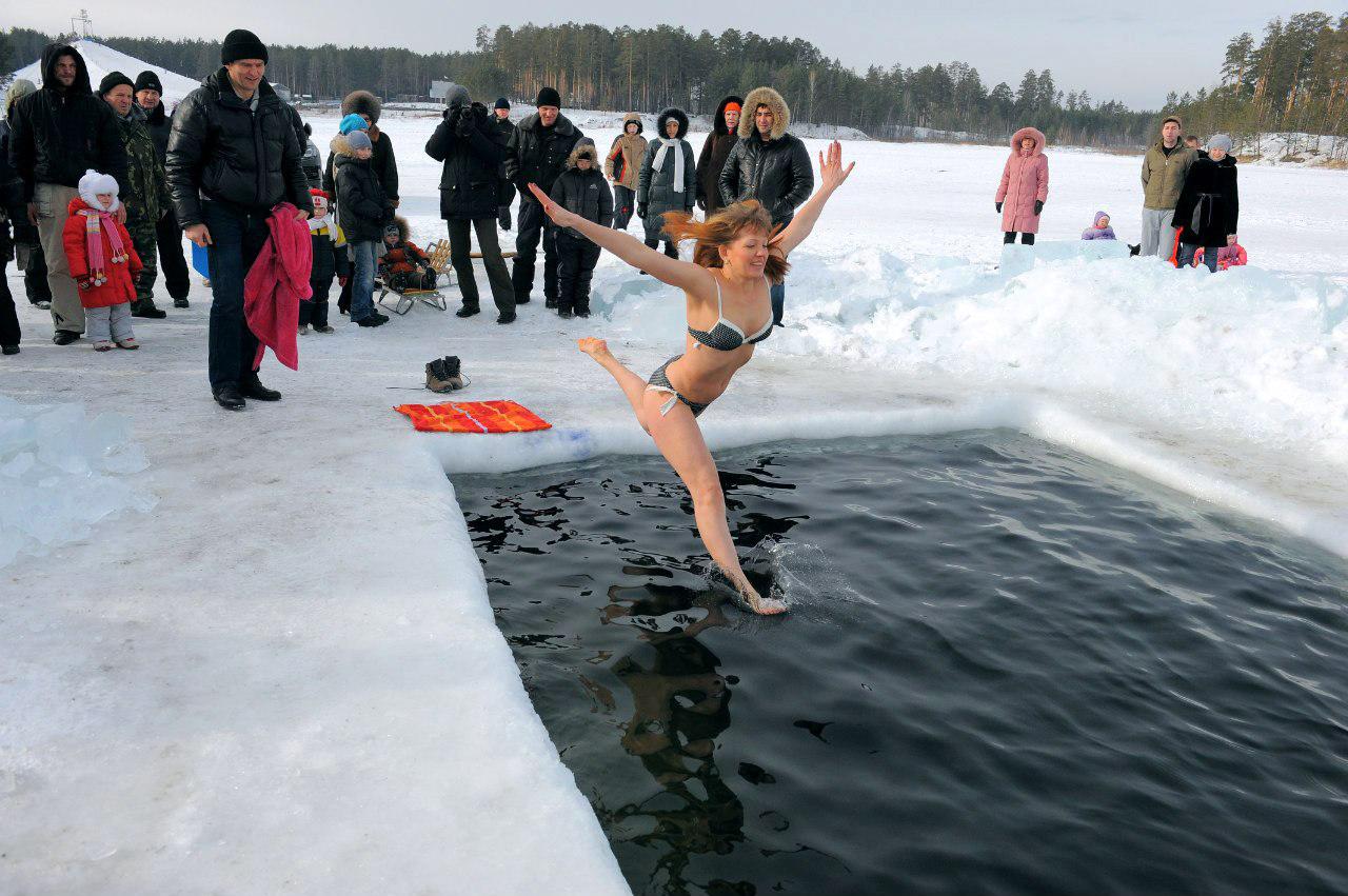 зимние купания фото комментариях можете