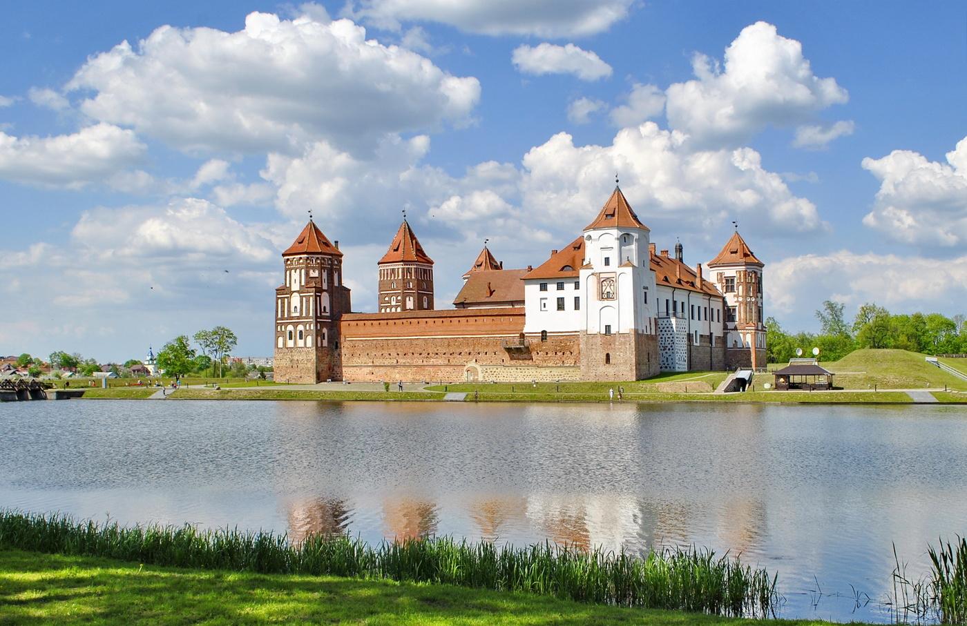 Картинки архитектура белоруссии