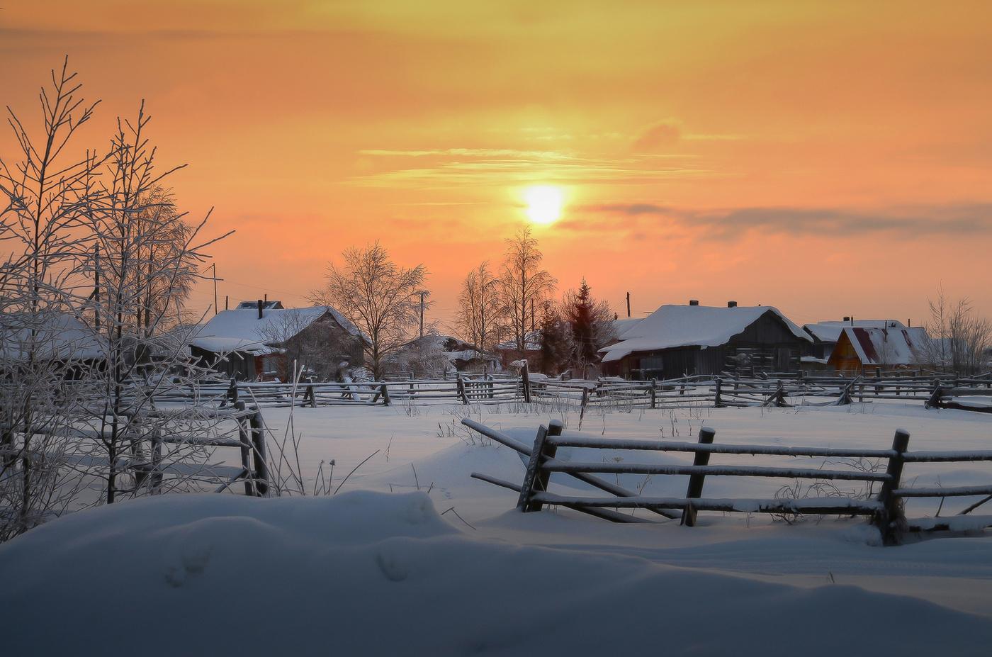 Картинки зима в деревне, смешные картинки